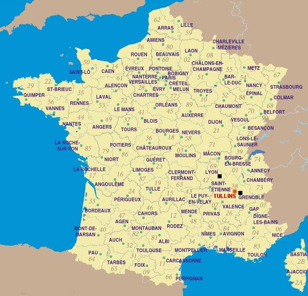 Mappy Carte De La France | popkensburg